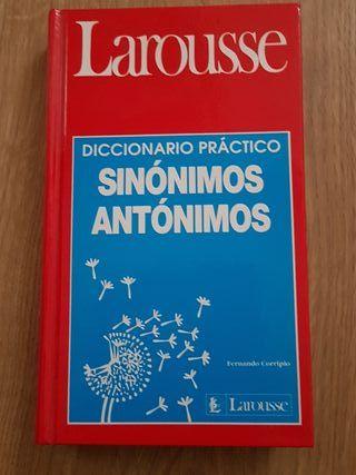 Larousse. sinónimos antónimos