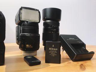 Kit Cámara Reflex Nikon D5200
