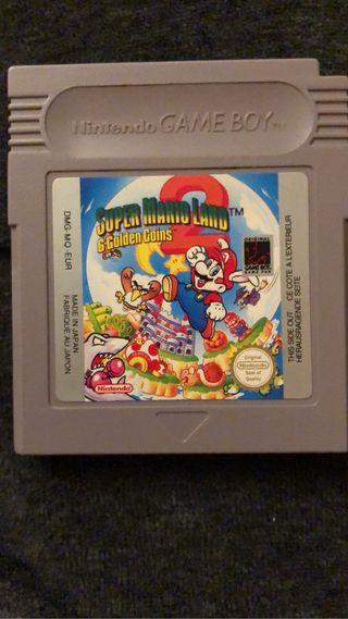 Nintendo game boy súper Mario land 6 colden coins