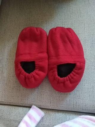 zapatillas microondas