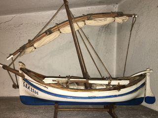 Maqueta barco menorquina
