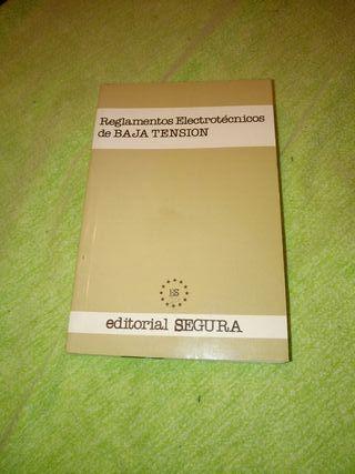 libro Reglamentos Electrotécnicos De Baja Tensión