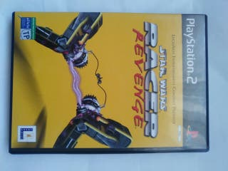 ps2 star wars race revenge