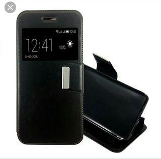 Funda móvil + Protector pantalla SAMSUNG J3 (2016)