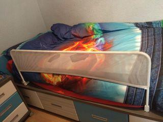 barra proteccion niños cama