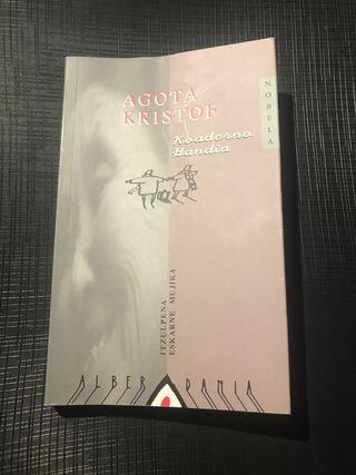 Koaderno handia, Agota Kristof