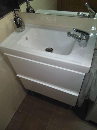 mueble baño espacio reducido