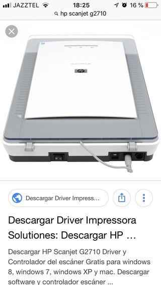SCANJET SCANNER TÉLÉCHARGER DRIVER G2710 HP