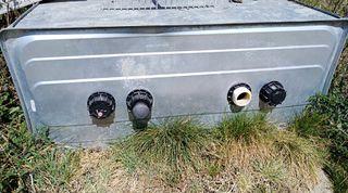 Deposito Gasoil acero homologado 1500 litros