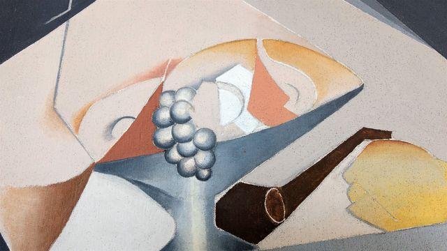 Pintura cubista Carmen Camba Morla