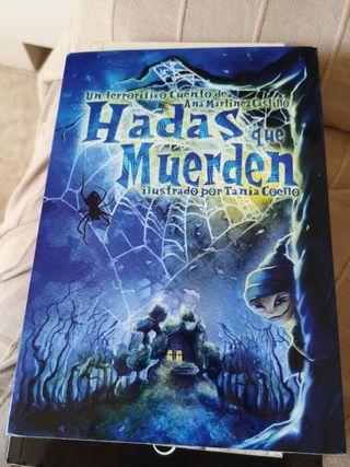 Libro titulado Hadas que muerden.