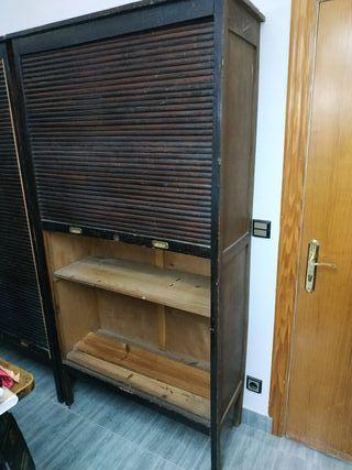 Mueble estanteria vintage antiguo armario sastre