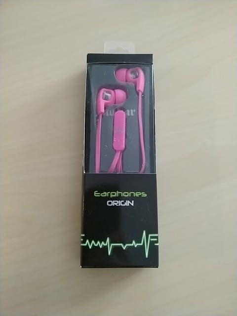 Auriculares color Rosa tipo botón (in ear)