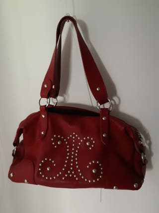 bolso Genuine Leather rojo