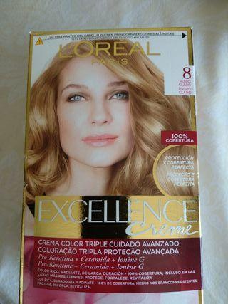 tinte L'Oréal excellence numero 8