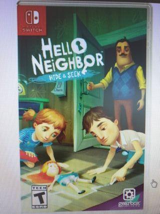 Juego Hello Neighbor Nintendo Switch