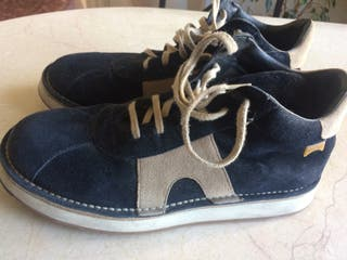 Zapatos de ante de camper