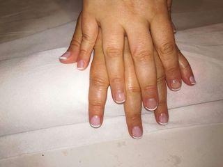 manicura con masaje