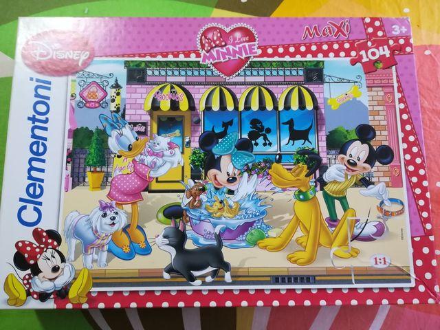 Puzzle Maxi Minnie