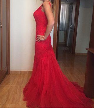 Vestido Pronovias Rojo