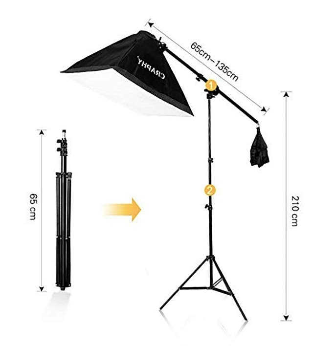 Kit de Iluminación Estudio de Fotografía