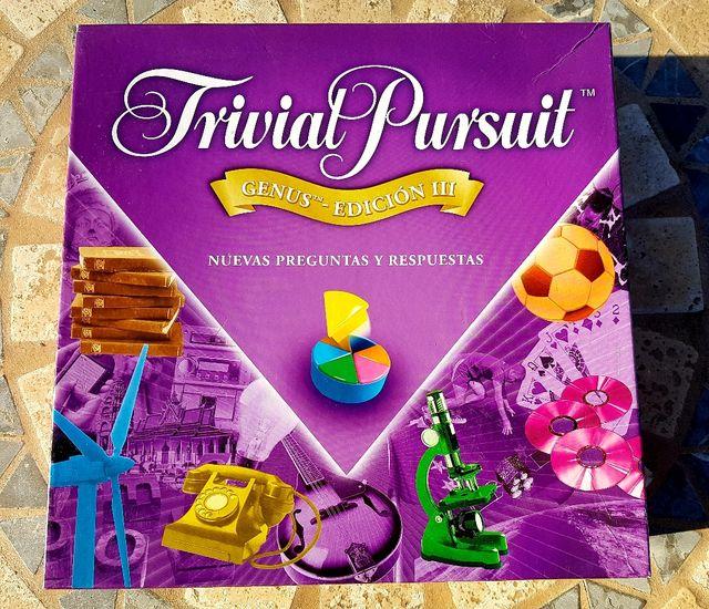 Juego de mesa Trivial Pursuit