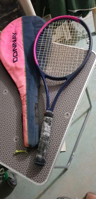 raquetas de tenis por cada una 15e