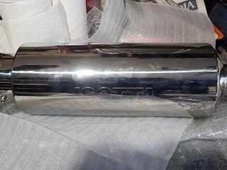 petaca tubo escape isotta