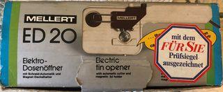 Abrelatas eléctrico vintage MELLERT