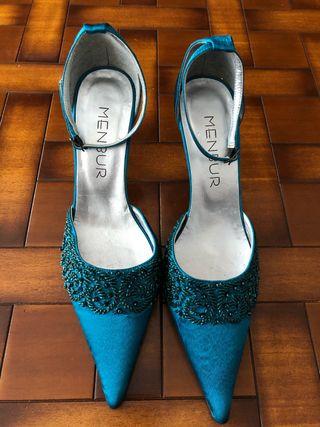d836bcf7 Zapatos de fiesta sin tacón de segunda mano en Santander en WALLAPOP