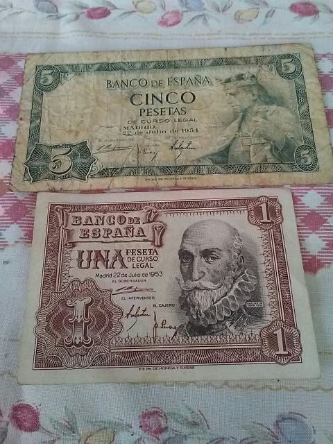 billete franquismo