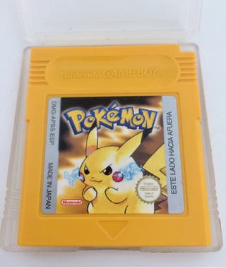 POKEMON AMARILLO PIKACHU gameboy