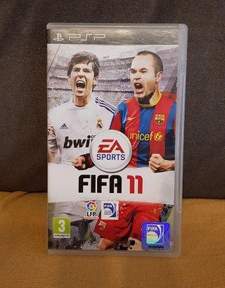 JUEGO PSP FIFA 11