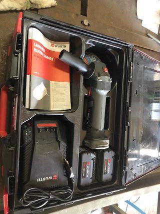 Radial a bateria wurth