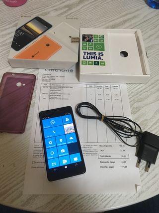 Microsoft Lumia 640 blanco.