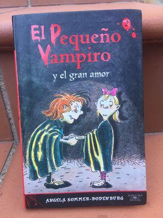 Libro El pequeño vampiro y el gran amor