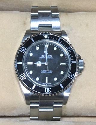 Submariner En Mano Segunda De Reloj Rolex Wallapop mwvNn80O