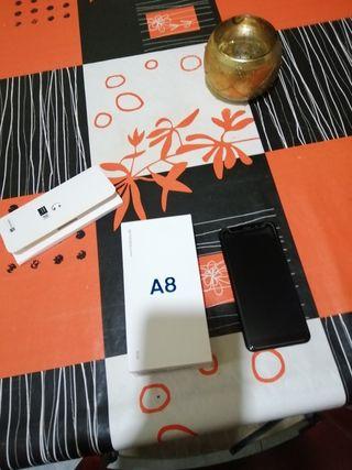Samsung A8 2018 Negro (Casi nuevo)