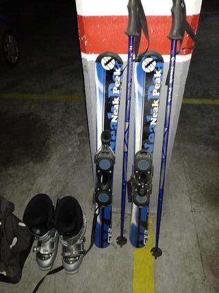 esquí pequeño muy manejable