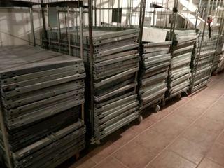 estanterías metálicas almacén ángulo ranurado