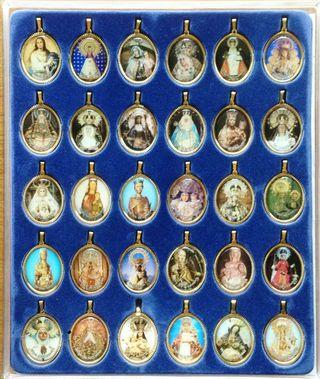 Medallas de la Virgen