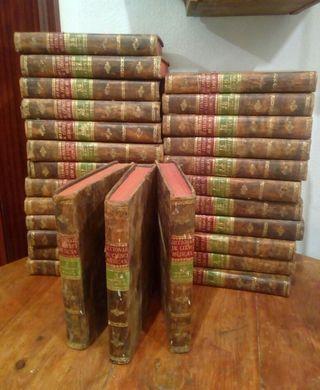 27 tomos año 1821 diccionario de ciencias médicas