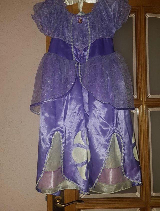 Vestido Princesa Sofia Original De Segunda Mano Por 17 En