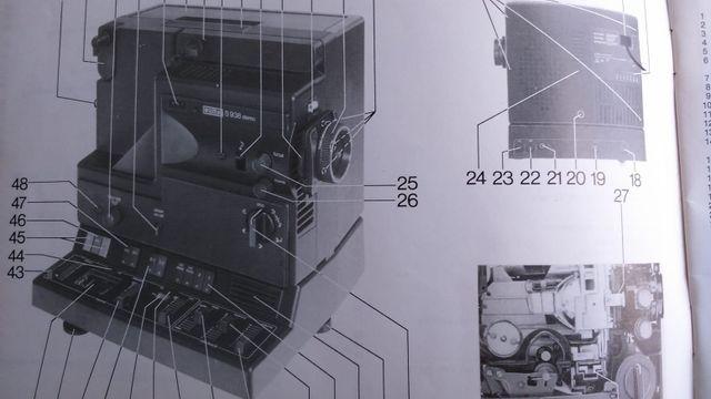 Reproductor y grabador cine 8mm