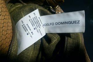Bolso original marca Adolfo Dominguez