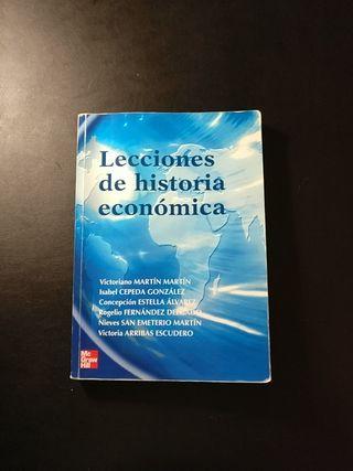 Lecciones de Historia Económica de Isabel Cepeda