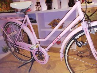 bicicleta vintage rosa