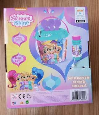 brand new shimmer and shine bubble bucket