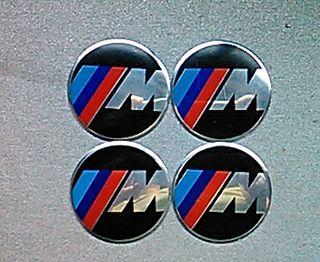 Pegatinas centro de rueda tapabujes BMW M 60mm