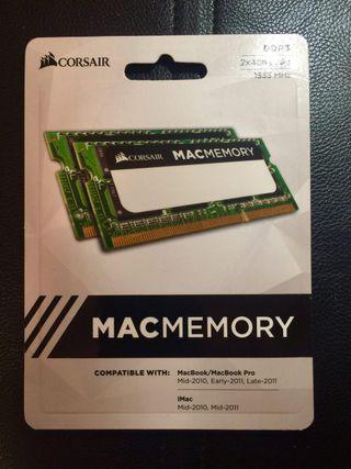 Memoria Mac 8GB DDR3 1333MHz